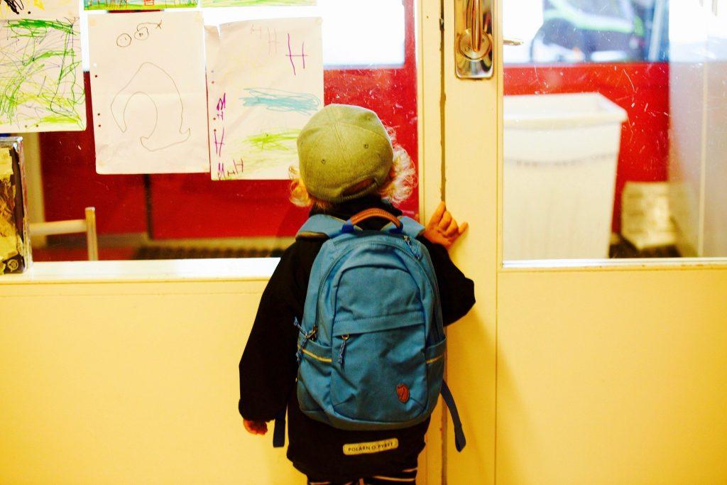 Rentrée des classes en maternelle